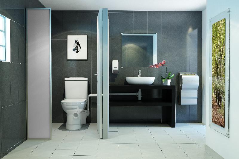 Sanibroyeur voor de toiletruimte